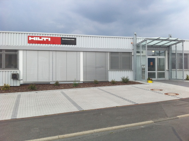 Das Hilti Quot Tools Service Center Tsc Quot In Bebra